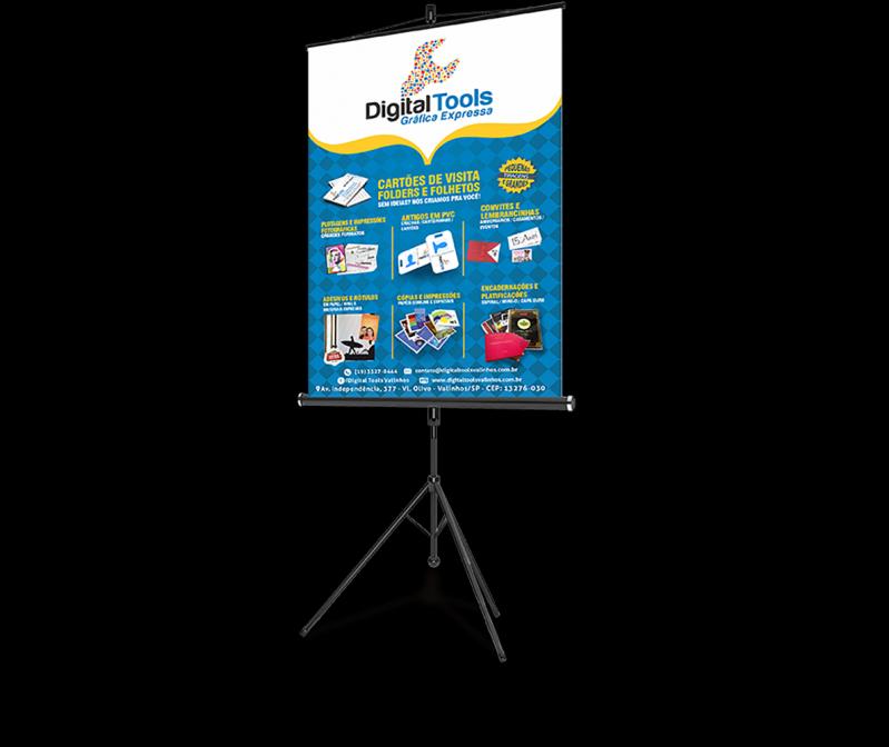 Banner para Apresentação de Tcc Campos Elíseos - Banner para Fachada