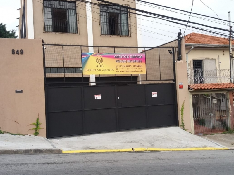 Banner para Fachada Brasilândia - Banner para Escola