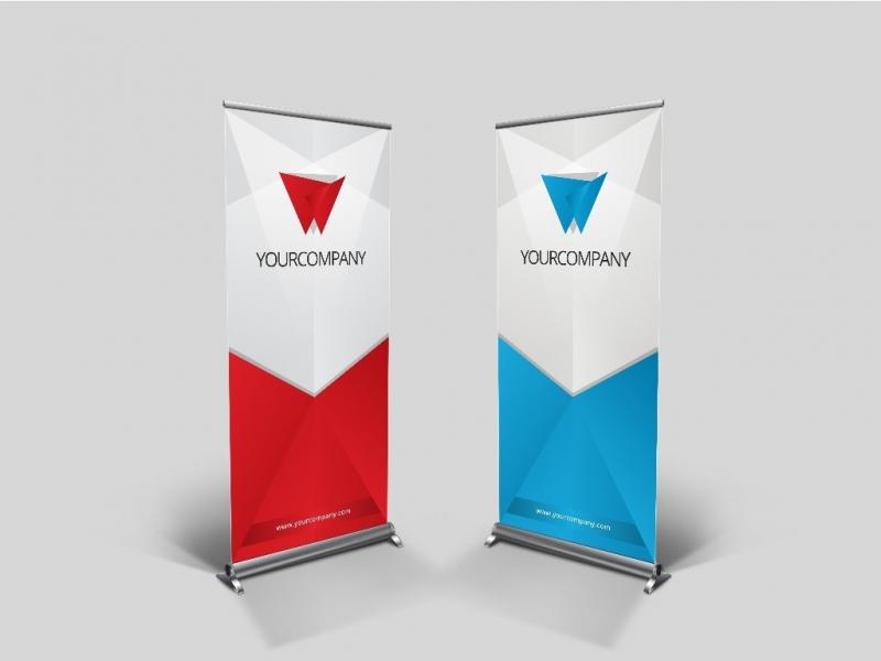 Banners para Apresentação de Tcc Mercado - Banner para Escola