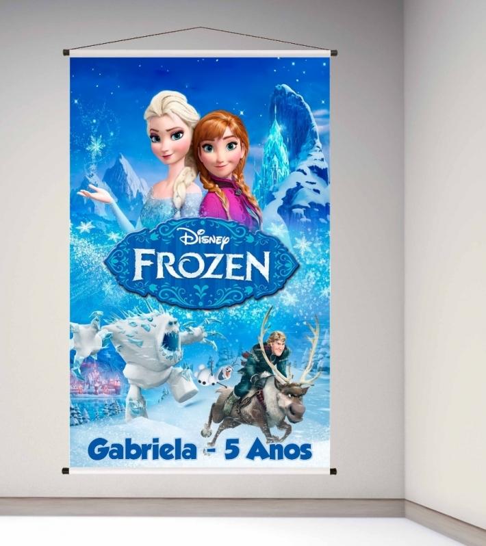 Banners para Festa Jardim Paulistano - Banner para Escola