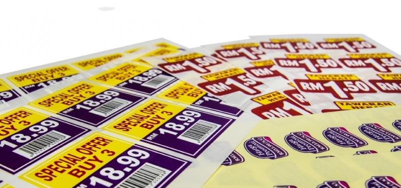 Impressão para Adesivos Preço Glicério - Impressão de Banners Sp