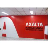adesivo de logotipo de empresa Praça da Arvore