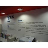 adesivo de parede para empresa Casa Verde