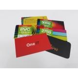 impressão de cartão de visita ABCD
