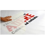 onde faz adesivo para logotipo ABCD