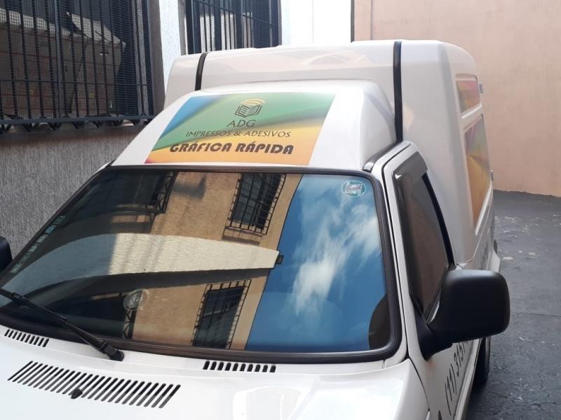 Adesivo para Carros Empresa Anhangabaú - Adesivo para Carros Empresa