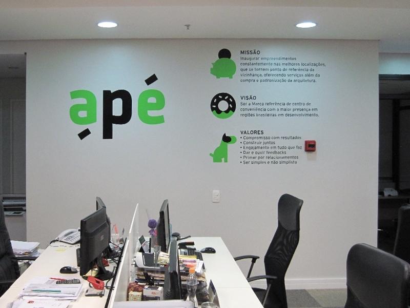 Adesivo para Logotipo Parelheiros - Adesivo para Parede de Empresa