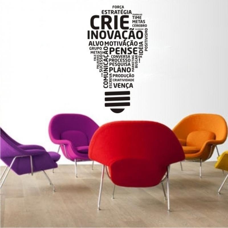 Comprar Adesivo para Parede de Empresa Vila Leopoldina - Adesivo de Logotipo de Empresa