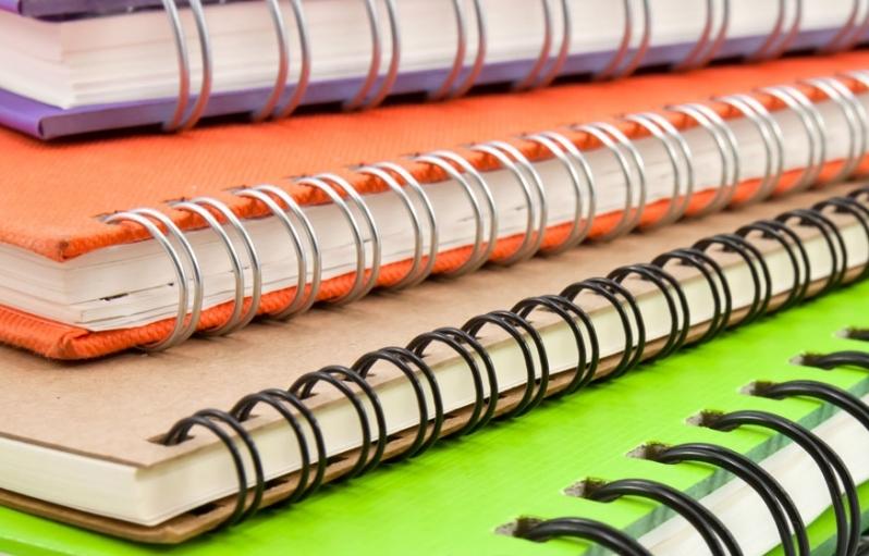 Encadernação Espiral Preço Pacaembu - Impressão e Encadernação