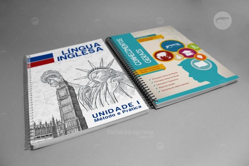 Impressão de Apostilas Escolares Jardim Paulistano - Impressão de Apostilas Concursos