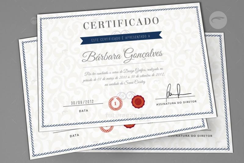 Impressão de Certificados Freguesia do Ó - Impressão de Banners Sp