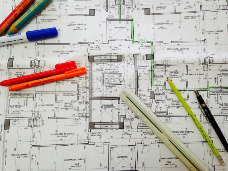 Impressão de Projetos Arquitetônicos Cotar Pirapora do Bom Jesus - Impressão de Planta Baixa