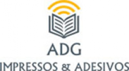 impressão digital adesivo - Impressos ADG