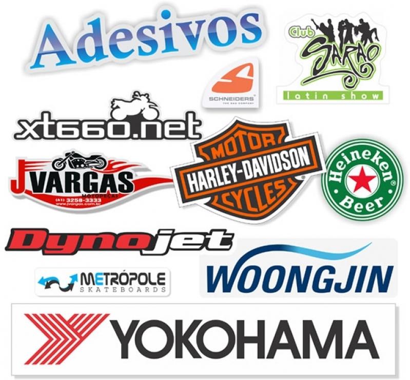 Onde Faz Adesivo Empresa Biritiba Mirim - Adesivo para Logotipo