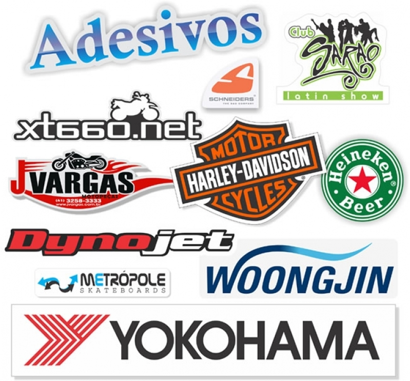 Onde Faz Adesivo Logotipo de Empresa Morro dos Ingleses - Adesivo para Parede de Empresa