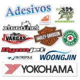 comprar adesivo de logotipo de empresa Santo Amaro