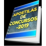comprar impressão de apostilas concursos Itaquaquecetuba