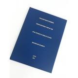 encadernação de monografia preço Cidade Ademar