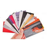 impressão de cartão de visita valor Água Funda
