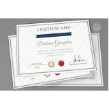 impressão de certificados Praça da Arvore
