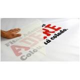onde faz adesivo para logotipo Cidade Ademar