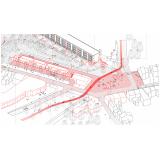 plotagem de projetos e plantas de engenharia Jardim América