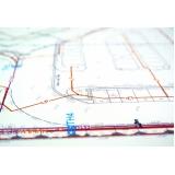 qual o preço de plotagem para projetos Ponte Pequena