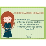 quanto custa impressão de certificados Jardim São Paulo