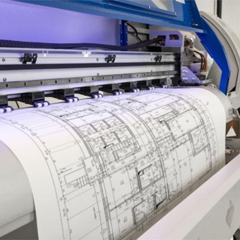 Valor de Impressão de Planta Baixa Santa Isabel - Impressão Plantas Arquitetônicas